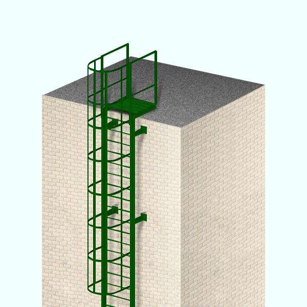 Пожарные лестницы купить в СПб - СтройПрогресс