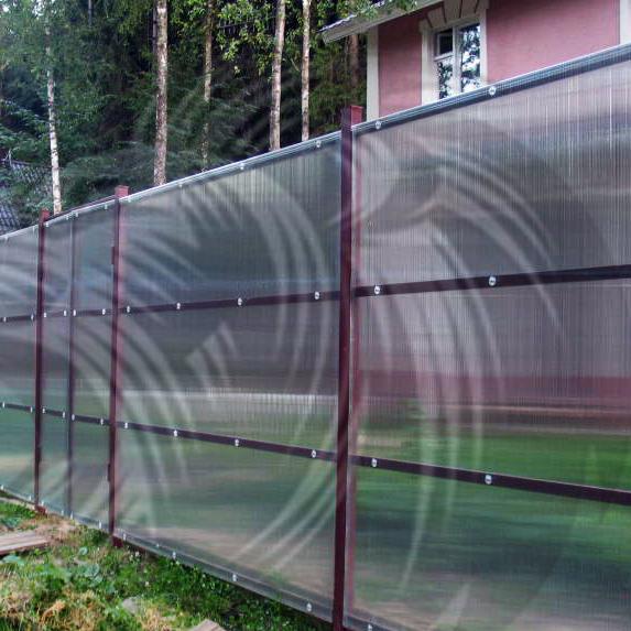 Забор на винтовых сваях в СПБ - СтройПрогресс